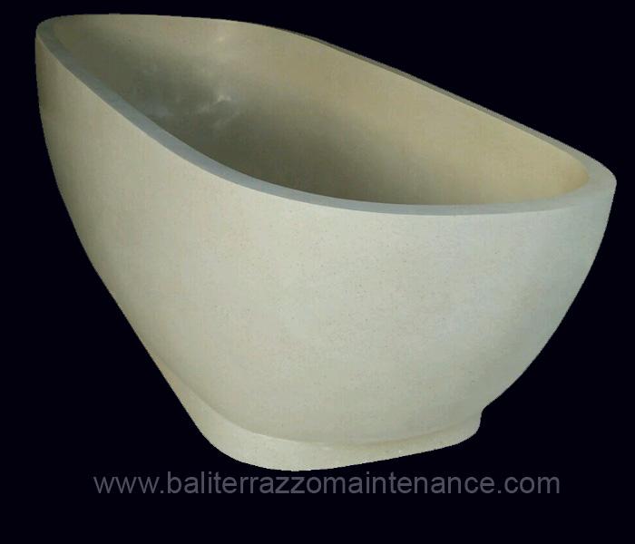 Bathtub Resin Terrazzo